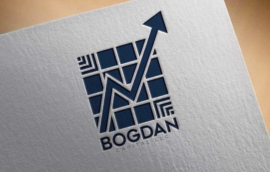 "Penyertaan Peraduan #18 untuk Need someone to create a logo for my financial business which is called ""BOGDAN CAPITAL LLC"" Thinking to do something classy with letters something similar to what i have included in the attachment."
