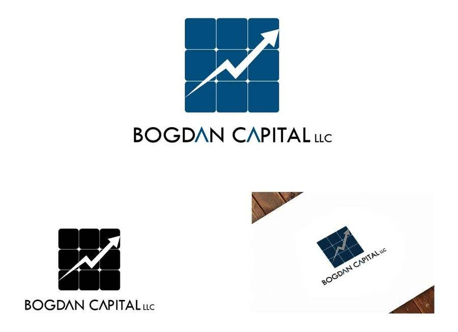 """Penyertaan Peraduan #56 untuk Need someone to create a logo for my financial business which is called """"BOGDAN CAPITAL LLC"""" Thinking to do something classy with letters something similar to what i have included in the attachment."""