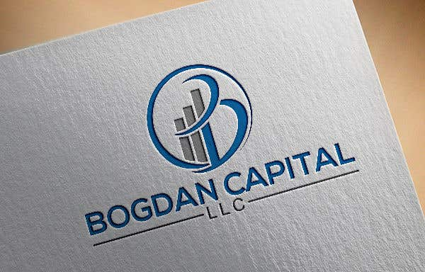 "Penyertaan Peraduan #57 untuk Need someone to create a logo for my financial business which is called ""BOGDAN CAPITAL LLC"" Thinking to do something classy with letters something similar to what i have included in the attachment."