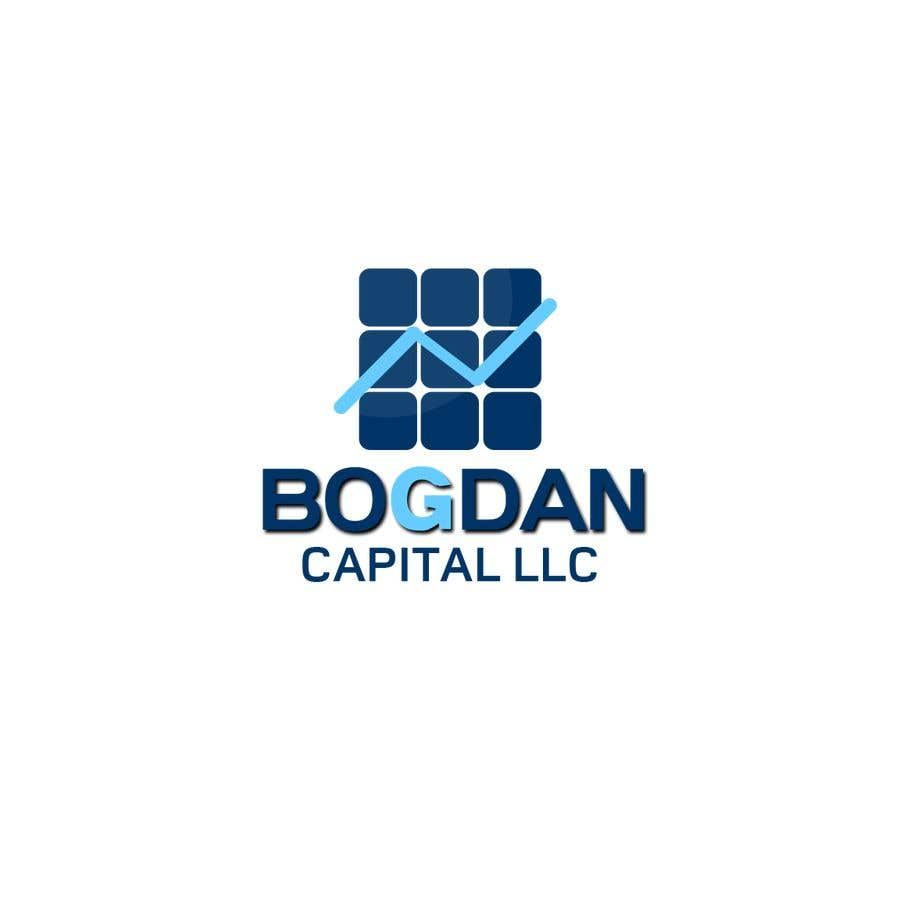 """Penyertaan Peraduan #53 untuk Need someone to create a logo for my financial business which is called """"BOGDAN CAPITAL LLC"""" Thinking to do something classy with letters something similar to what i have included in the attachment."""