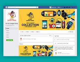 Nro 61 kilpailuun Facebook Page Design Work käyttäjältä MHjamilHowlader