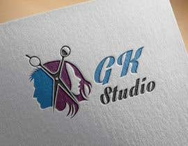 #33 for I have recently started my own hairdressing studio and I need a logo done up.  I would like to incorporate the name of the business into the logo somehow - GK Studio by golammostofa6462