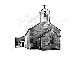 #42 for Draw an outline of this church in illustrator. by Anonymousgeek