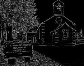#26 for Draw an outline of this church in illustrator. by SaherN93