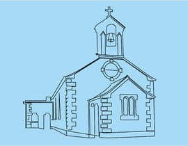 #36 for Draw an outline of this church in illustrator. by pranthowladerph