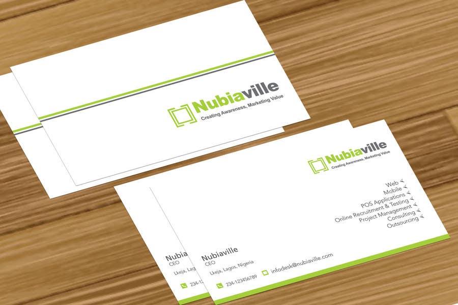 Kilpailutyö #                                        38                                      kilpailussa                                         Corporate Identity Design for Nubiaville