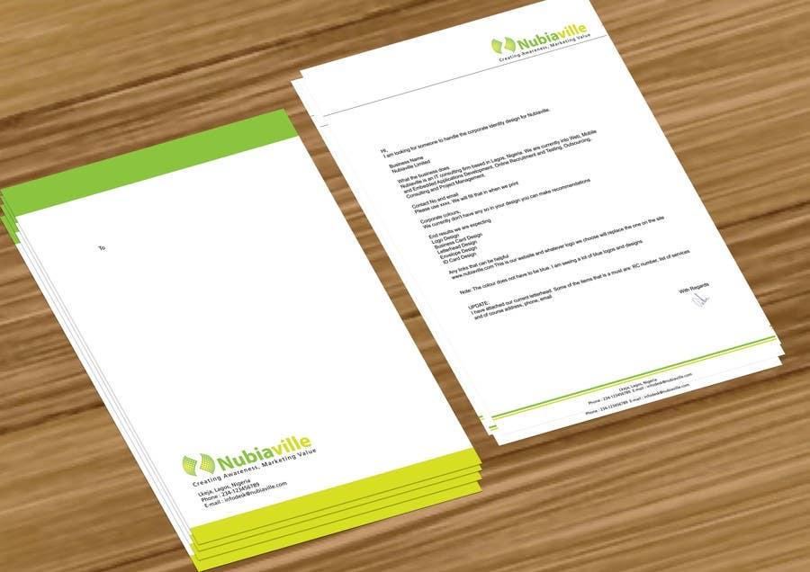 Kilpailutyö #                                        73                                      kilpailussa                                         Corporate Identity Design for Nubiaville