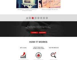 Nro 29 kilpailuun Design a website basis a design concept that's already in place. käyttäjältä MadniInfoway01