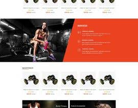 #11 for Design single page website for fitness center by drima16