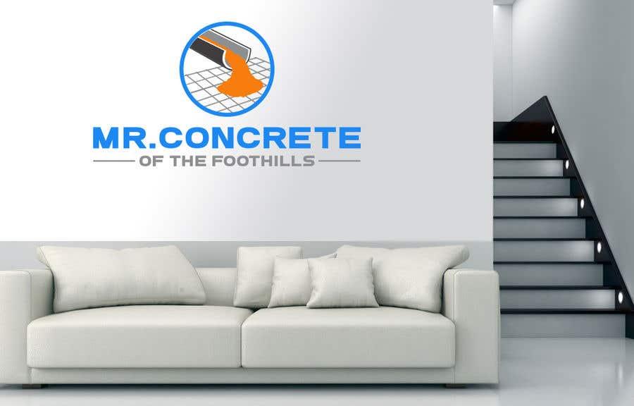 Konkurrenceindlæg #41 for Mr Concrete of the Foothills Logo