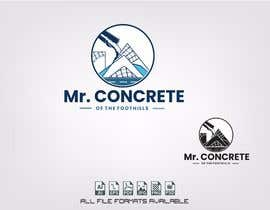 #45 for Mr Concrete of the Foothills Logo af alejandrorosario