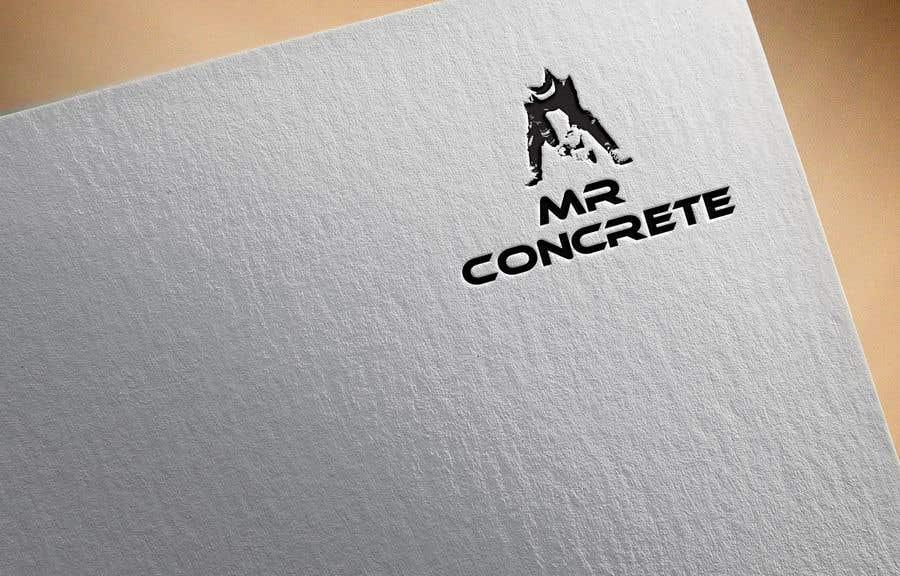 Konkurrenceindlæg #23 for Mr Concrete of the Foothills Logo