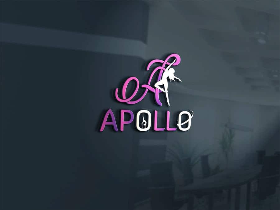 """Konkurrenceindlæg #152 for Logo for """"Apollo Gymnastics Academy"""""""