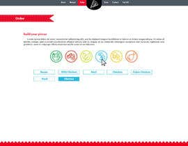 #5 for Design a Pizza Order Webpage by Mouneem