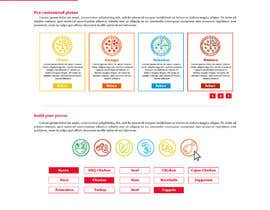 #6 for Design a Pizza Order Webpage by Mouneem