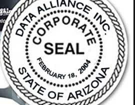 #7 pentru Make corporate seal graphic based on example de către vw8290066vw