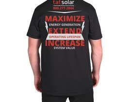 #53 untuk Create a shirt design for my company oleh jeewoo258