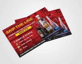 #10 para Liquor Promo Flyer Design por dissha