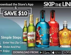 #53 para Liquor Promo Flyer Design por Hobol