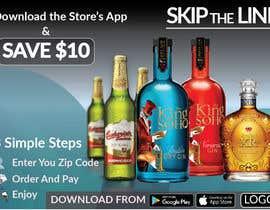 #54 para Liquor Promo Flyer Design por Hobol