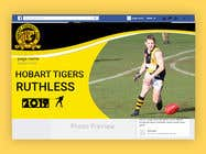 Graphic Design Entri Peraduan #8 for Graphic Design - sporting team membership campaign