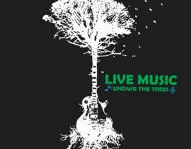 #13 for I need a logo to depict Live Music Under the Trees. We have a monthly music day in the Courtyard under the Trees. It should be a fun logo that stands out with nice corporat look by nobelbayazidahme