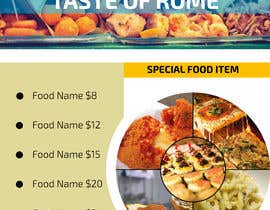 #93 for Bussines card and flyer for italian restaurant af nabilimam007
