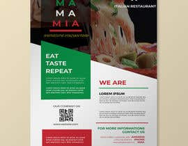 #87 for Bussines card and flyer for italian restaurant af arifinrafi36