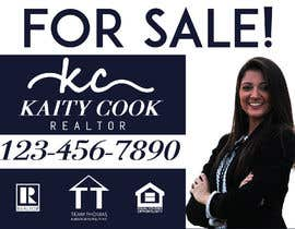 "#55 for Design My Real Estate Agent ""FOR SALE"" Sign by mbhivy12new"