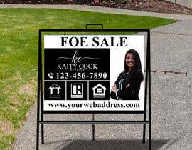 "#11 for Design My Real Estate Agent ""FOR SALE"" Sign by joney2428"