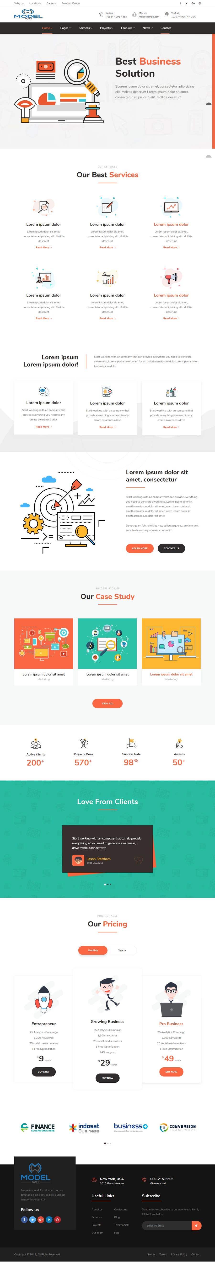 Kilpailutyö #13 kilpailussa Design Homepage