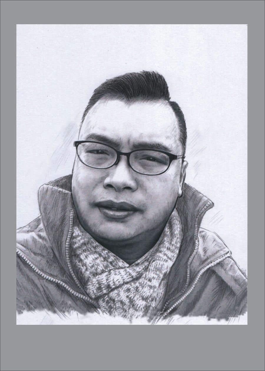 Inscrição nº 18 do Concurso para sketch portrait