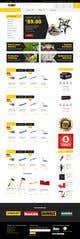 Kilpailutyön #42 pienoiskuva kilpailussa Redesign an Ecommerce Website Homepage
