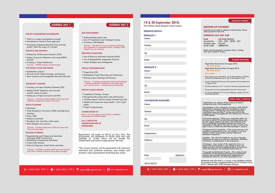 Kilpailutyö #67 kilpailussa PDF Brochure New Design