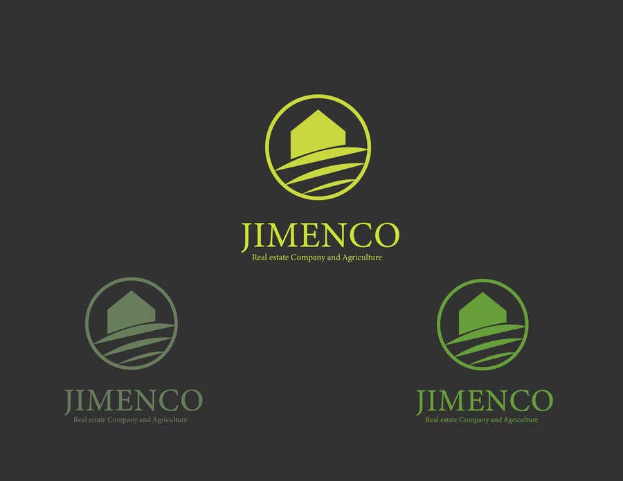 Proposition n°22 du concours Logo For a Real estate and agriculture Company in Black and Green. JIMENCO