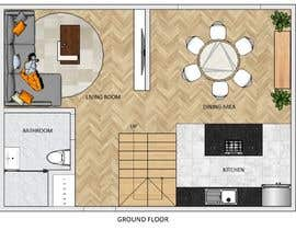 #14 for Floor plan for duplex house af aybee9721