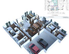 #4 for 3D Render of Floor plan by anto2178