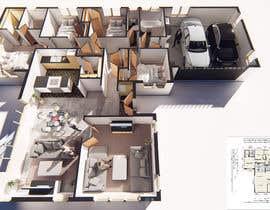 #24 for 3D Render of Floor plan by jairandresrmz