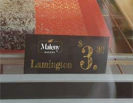 #64 para Cake Labels in Chiller por jeevasan