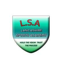 imagevideoeditor tarafından LOGO DESIGN Lancashire Sports Academy için no 12