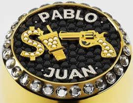 """Nro 29 kilpailuun Design a mens ring with my logo """"MONEY, PLUG, GUN"""" käyttäjältä behzadkhojasteh"""