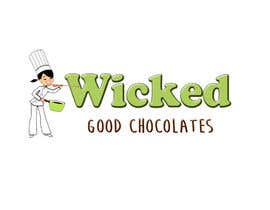 #34 for Logo for Homemade retail candies - Wicked Good Chocolates by jucpmaciel