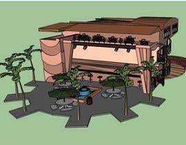 Nro 3 kilpailuun Design Beach Club in 3D Sketchup käyttäjältä yus7
