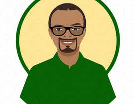 hsandali tarafından Make an animated vector illustration of a black male with green polo shirt. için no 9