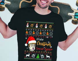 #19 for Christmas T-shirt design for Amazon Merch. by priangkapodder