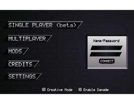 Nro 13 kilpailuun Need a game menu to be redesigned käyttäjältä chhamzatariq