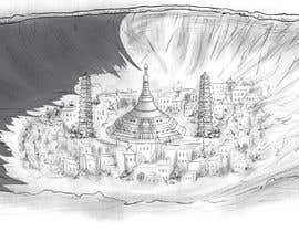 #8 for Comic book (anime) style drawings of locations in a novel by KhoSB