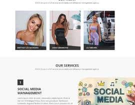 Nro 50 kilpailuun Website Design for Social Media Agency käyttäjältä WebCraft111