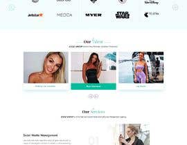Nro 43 kilpailuun Website Design for Social Media Agency käyttäjältä veletechnosoft