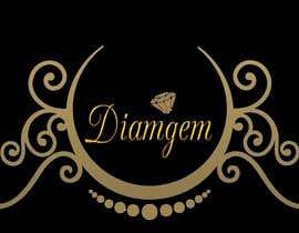 #56 cho Need good logo for a diamond business company name is DIAMGEM bởi Sevenrizha06
